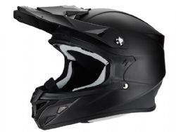 Casco Scorpion Vx-21 Air Negro Mate