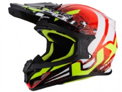 Casco Scorpion Vx-21 Air Xagon Rojo / Negro