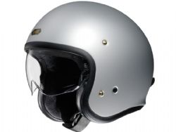 Casco Shoei J.O Matt Light Silver