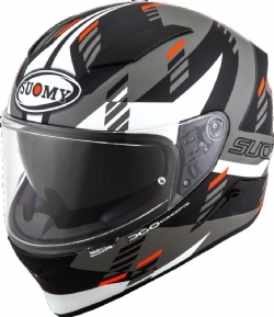Casco Suomy Speedstar Flow Blanco Mate / Gris
