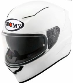 Casco Suomy Speedstar Plain Blanco Perla