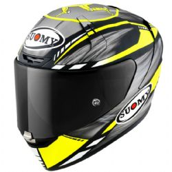 Casco Suomy SR-GP On Board Gris / Amarillo Mate Fluo