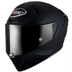 Casco Suomy SR-GP Plain Negro Mate