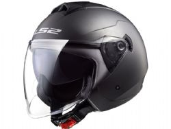 Casco Ls2 OF573 Twister 2 Titanio Mate