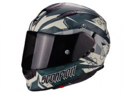 Casco Scorpion Exo-510 Air Cipher Verde Mate