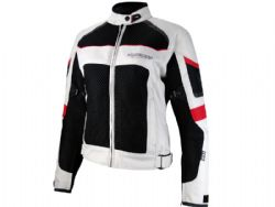 Chaqueta On board 3D-Air Lady Gris / Negro / Rojo