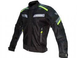 Chaqueta On board On Air Negro / Gris / Fluor