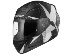 Casco Ls2 FF352 Rookie Brilliant Negro Mate-Titanio