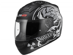 Casco Ls2 FF352 Rookie X-Ray Negro Mate