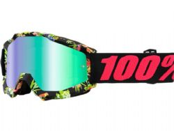 Gafas motocross 100% Accuri Chapter 11 / Espejo verde