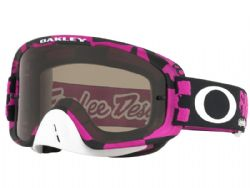 Gafas Oakley O-Frame MX XS Troy Lee Designs Race Shop Rosa / Gris oscura