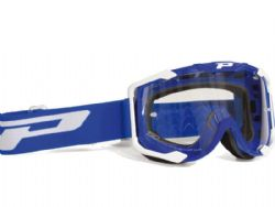 Gafas motocross Progrip 3400 Menace Azul / Transparente