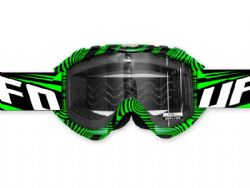 Gafas motocross Ufo Nazca Evolution 2 Green