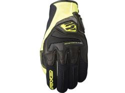 Guantes Five RS4 Negro  Amarillo