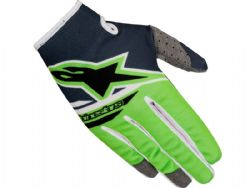 Guantes Alpinestars Radar Flight 2018 Gris / Verde