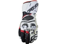 Guantes Five Rfx Race Blanco Rojo