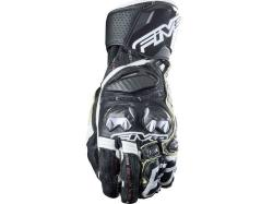 Guantes Five Rfx Race Negro-Blanco