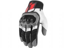 Guantes Icon Overlord Rojo