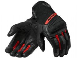 Guantes Revit Striker 3 Negro / Rojo