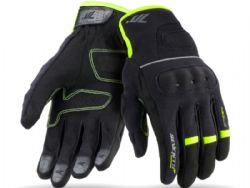 Guantes Seventy Degrees SD-C56 Woman Negro / Amarillo Fluor