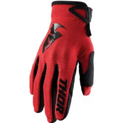 Guantes Thor Sector Youth Rojo
