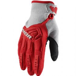 Guantes Thor Spectrum Youth Rojo / Gris