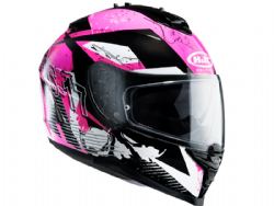 Casco Hjc IS-17 Pink Rocket MC8