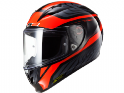 Casco Ls2 FF323 Arrow R Burner Negro-Rojo