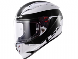 Casco Ls2 FF323 Arrow R Comet Blanco-Negro.