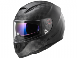Casco-Ls2 FF397 Vector C Solid Carbono Mate