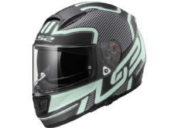 Casco Ls2 FF397 Vector Orion Negro Mate Light