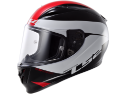 Casco Ls2 FF323 Arrow R Comet Negro-Blanco-Rojo