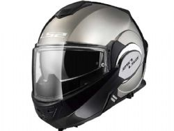Casco Ls2 FF399 Valiant Chrome