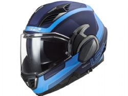 Casco LS2 FF900 Valiant 2 Orbit Azul Mate