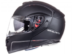Casco Mt Atom Sv Solid Negro Mate