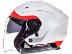 Casco Mt Avenue Crossroad Pearl White-Red