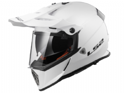 Casco Ls2 MX436 Pioneer Solid Blanco