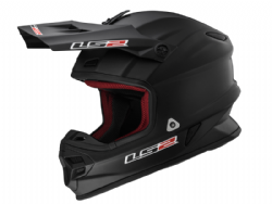 Casco Ls2 MX456 Light Evo Solid Negro Mate