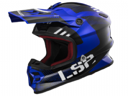 Casco Ls2 MX456 Light Evo Rallie Azul-Negro