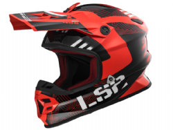 Casco Ls2 MX456 Light Evo Rallie Rojo-Negro