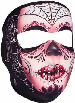 Mascara ZAN Headgear Full Mask Sugar Skull WNFM082