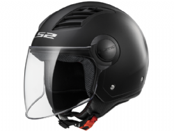 Casco Ls2 OF562 Airflow L Solid Negro Mate