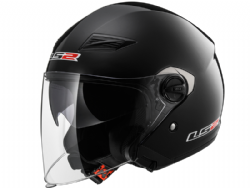 Casco Ls2 OF569 Track Solid Negro