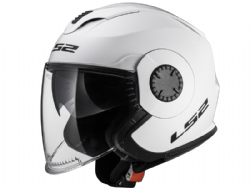 Casco Ls2 OF570 Verso Solid Blanco