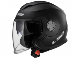 Casco Ls2 OF570 Verso Solid Negro Mate