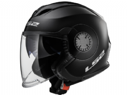 Casco Ls2 OF570 Verso Solid Negro