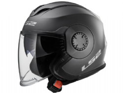 Casco Ls2 OF570 Verso Solid Titanio Mate