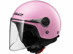 Casco Ls2 OF575J Wuby Solid Rosa