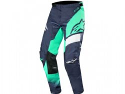 Pantalón Alpinestars Racer 2019 Supermatic Navy / Teal / Blanco