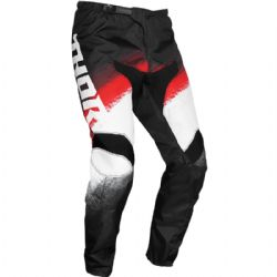 Pantalón Thor Sector Youth Vapor Black / Red